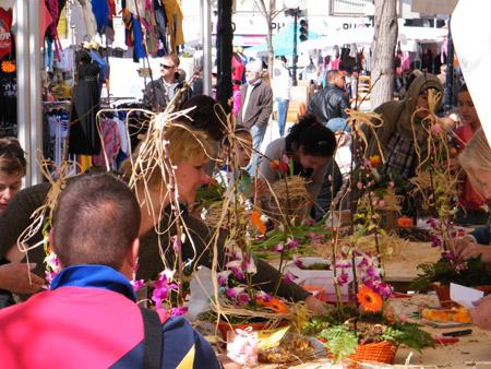 Atelier floral, compositions florales
